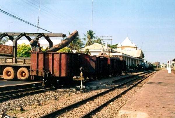 Đường vào ga Bình Thuận