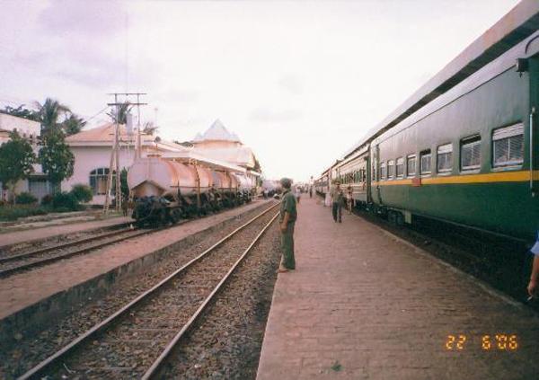 Hệ thống đường ray ga Bình Thuận