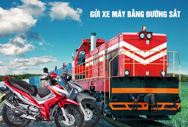 Hướng dẫn cách gửi xe máy bằng đường sắt